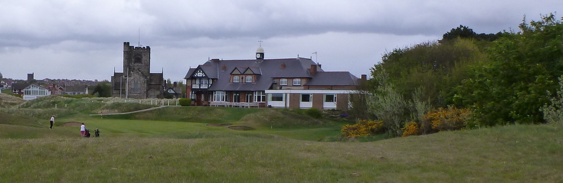 Wallasey Golf Club. Music provided by skylarks.