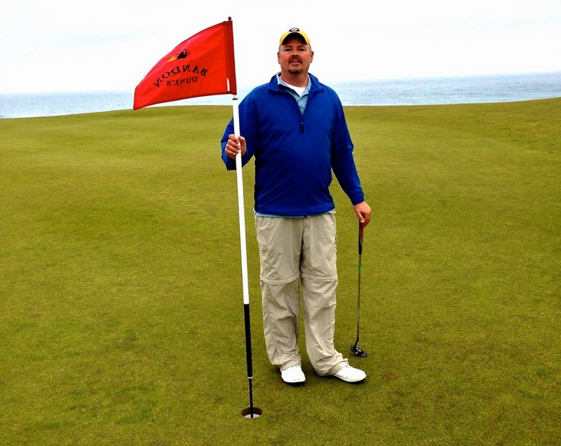 Tim Miles, our Bandon correspondent, June, 2013.