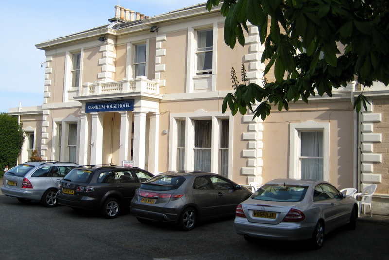 R.I.P.: Blenheim House Hotel, North Berwick, May, 2008.