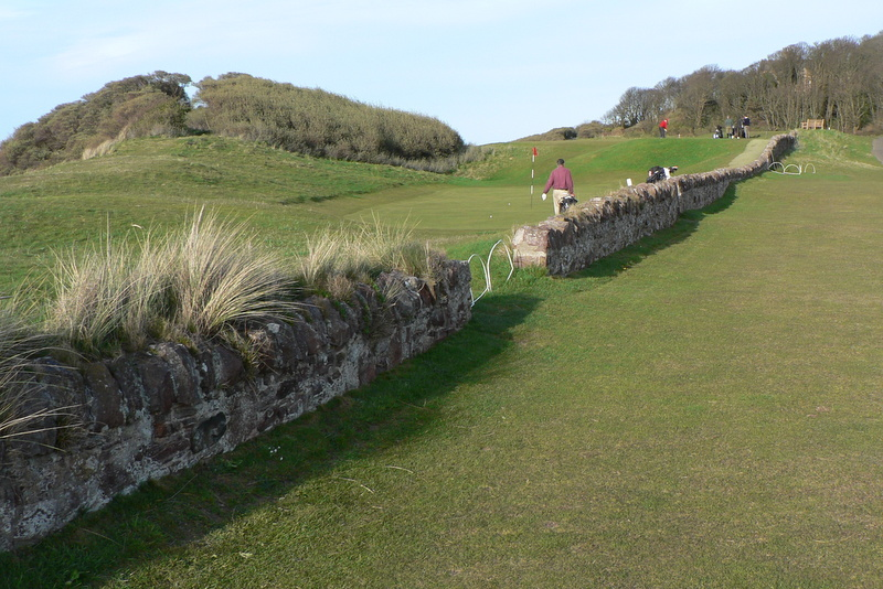 Thirteenth green, North Berwick Golf Club, Scotland, May, 2008.