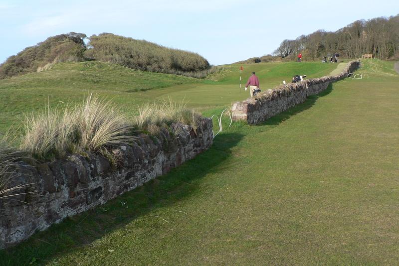 Thirteenth green, North Berwick Golf Club, Scotland, May, 2008.