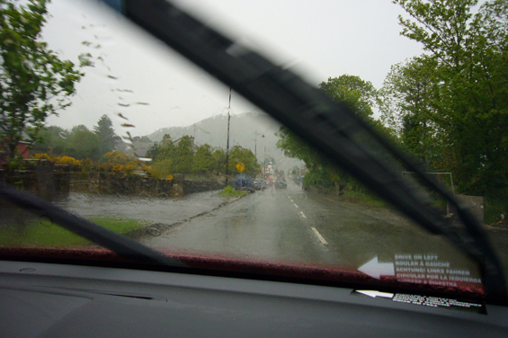 On the road to Tralee, Ireland, May, 2006.