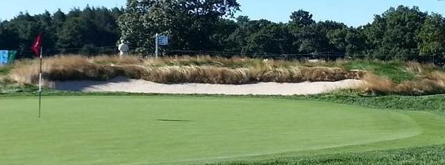 Second green, The Country Club.