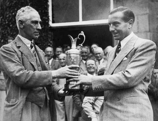 Henry Cotton, Open Championship, 1937.