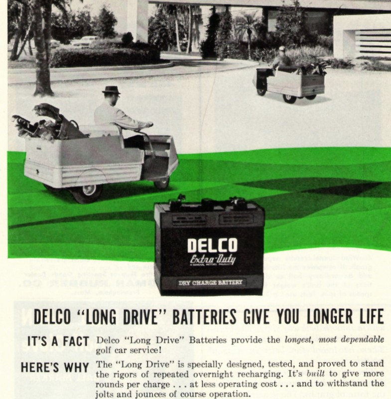 GD Delco cart batteries 4-61