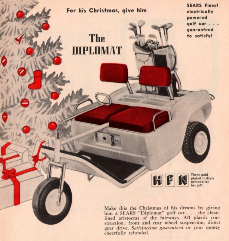 GD Xmas Sears cart 12-058