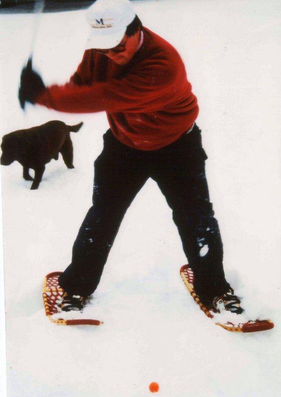 Snow golf 1996