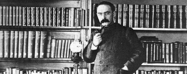 Rudyard Kipling at Naulhaka, where he created both snow golf and The Jungle Book.
