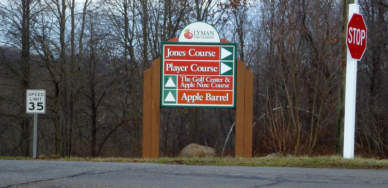 Lyman Orchards is also an orchard, and there's a big store in which you can buy apples and apple-themed stuff.