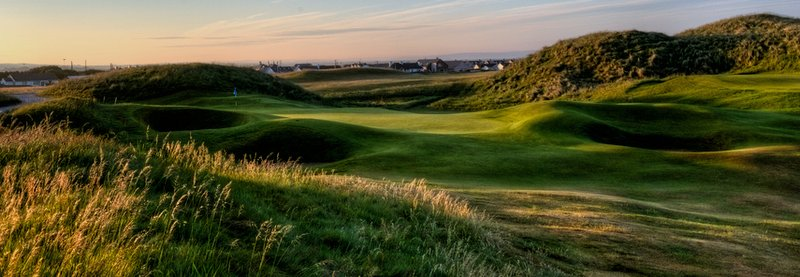 Seventh hole, Old Course, Ballybunion Golf Club, Ireland.