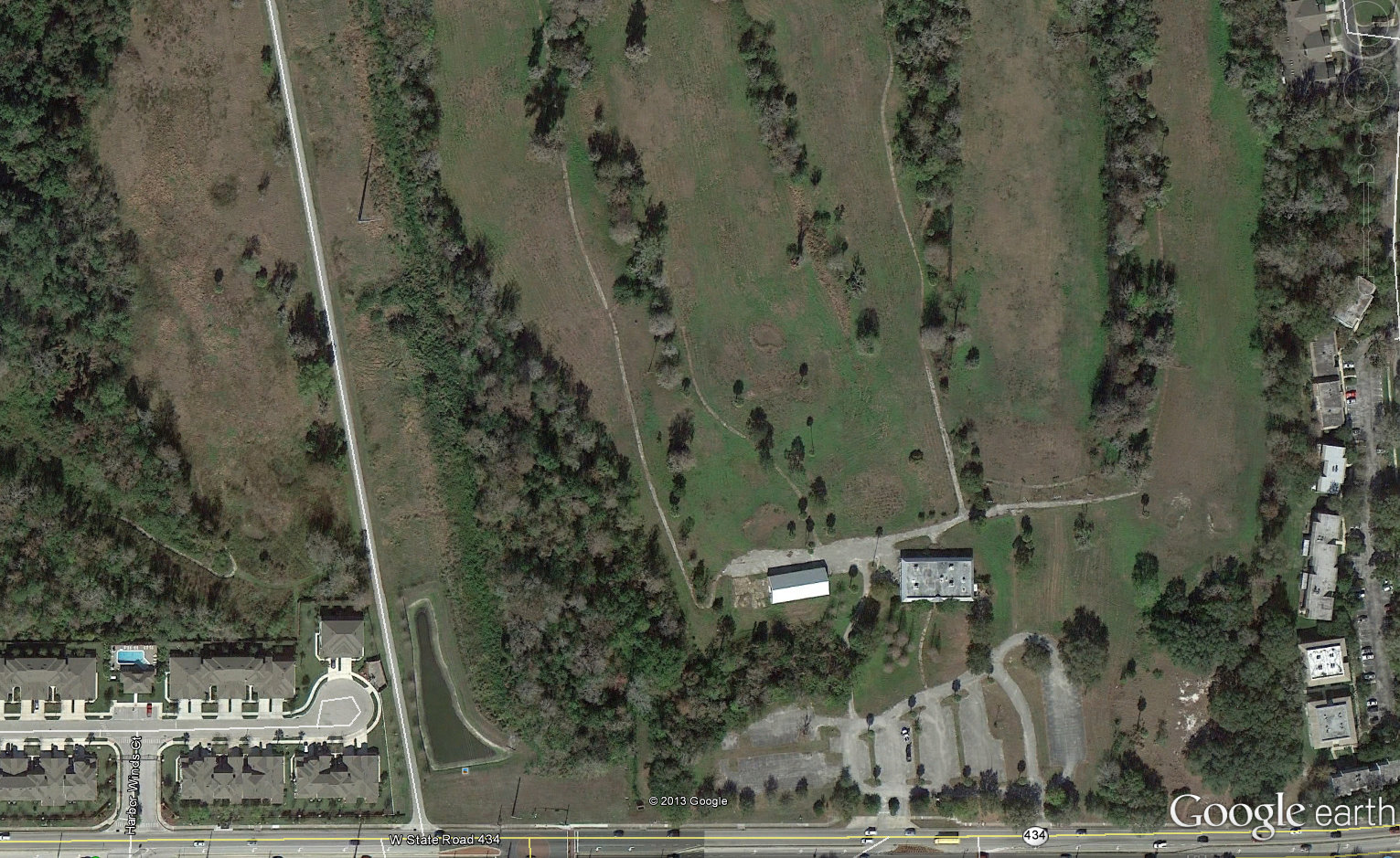 The former Winter Springs Golf Course, Winter Springs, Florida.