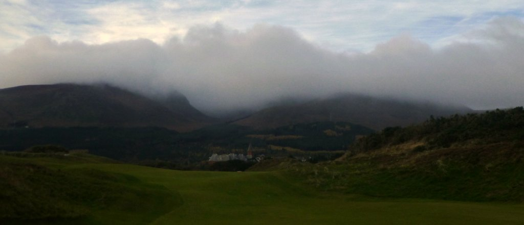 Royal County Down, Newcastle, Northern Ireland, November 11, 2013.