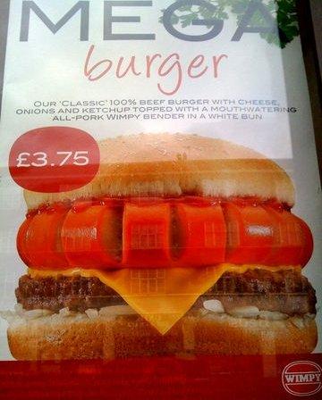 wimpy mega burger