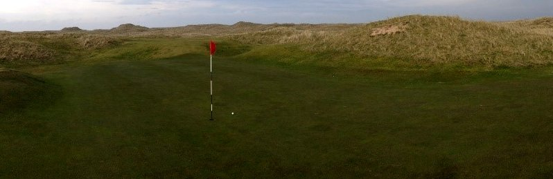 Fraserburgh Golf Club, Scotland, March 13, 2014.