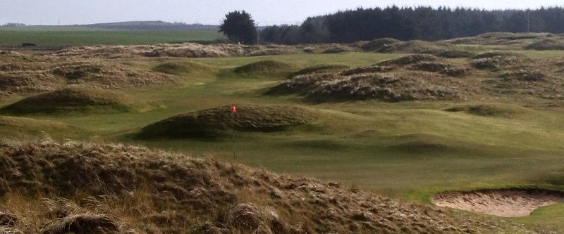 Fraserburgh Golf Club, thirteenth hole.