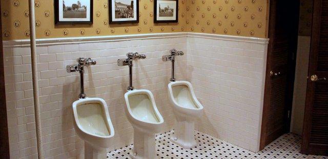 urinals midpines