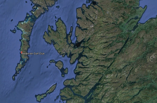 Askernish satellite view
