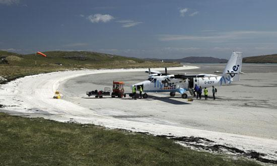 Barra runway