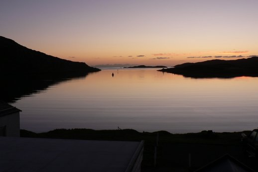 Lochboisdale harbor