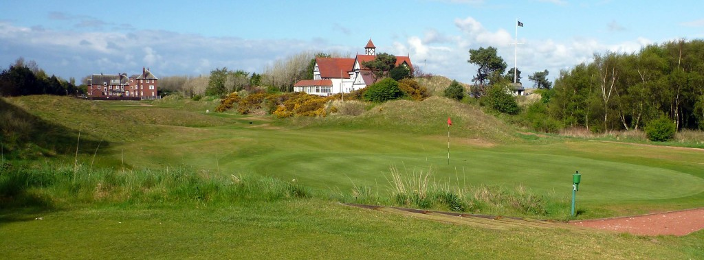Fourteenth hole, Hesketh Golf Club, May, 2013.
