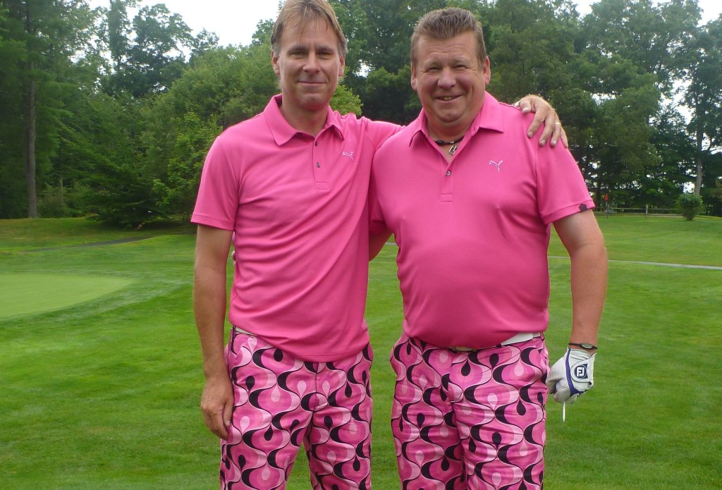 Fritz and Klinger, men's member-guest, August, 2014.