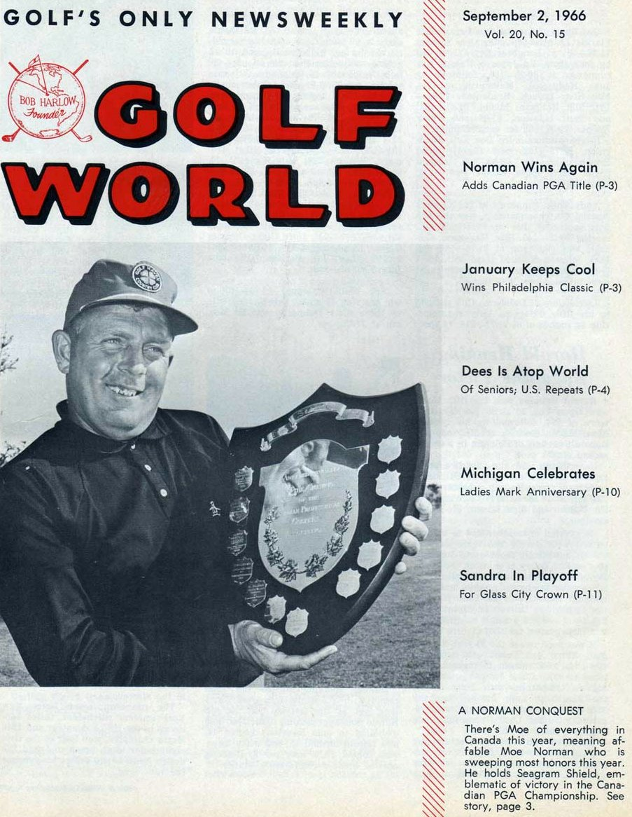 Moe Norman Golf World 9-2-66