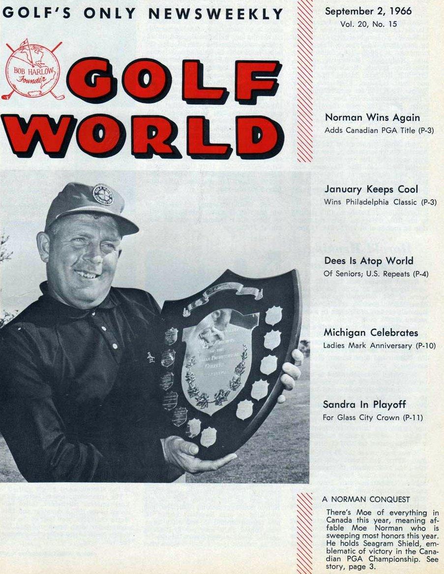 Moe Norman Golf World 9-2-66