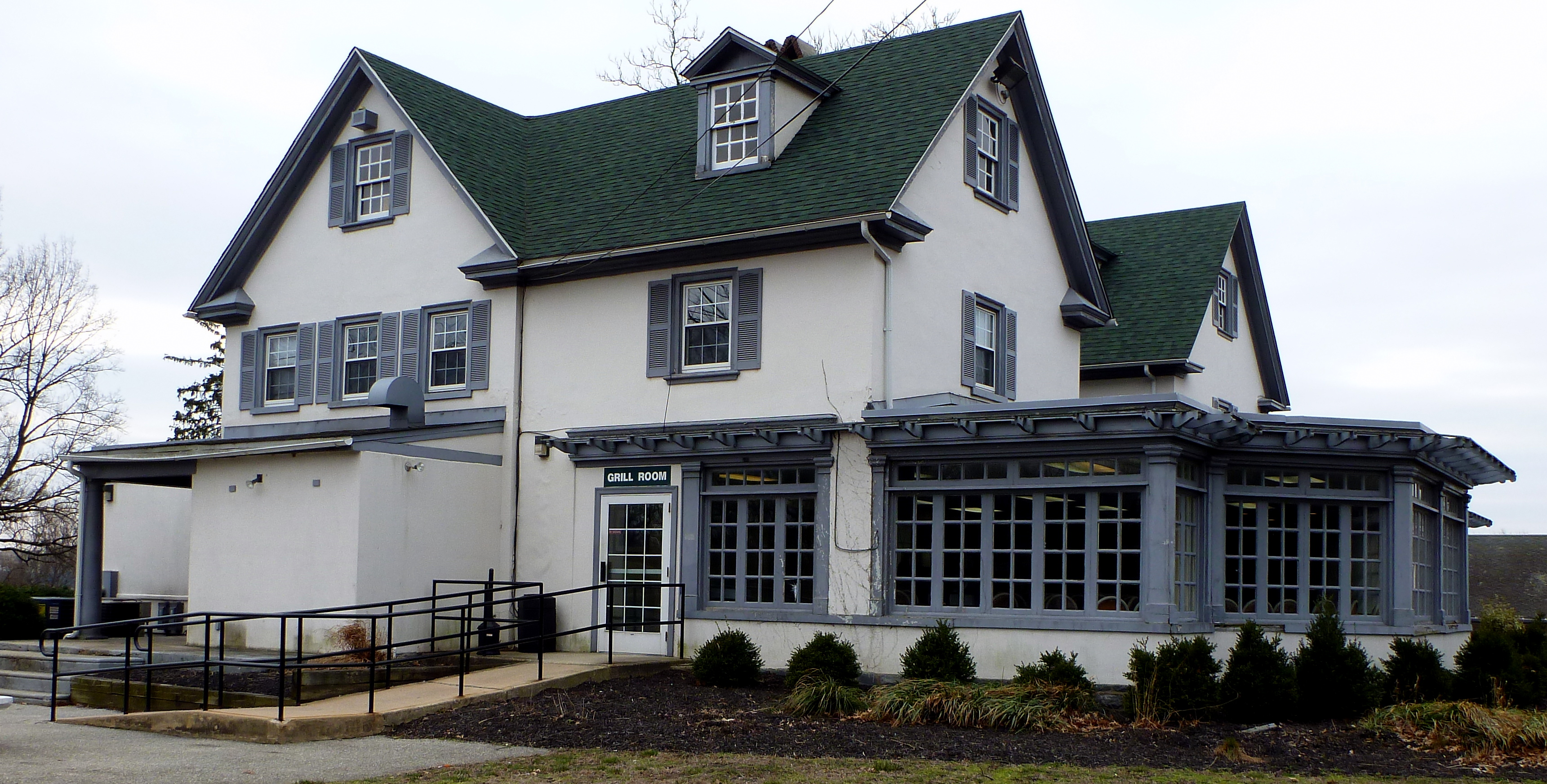 Cobbs Creek clubhouse, March 15, 2013.