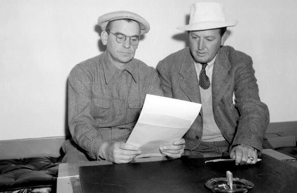 Augusta National/Getty Images Clifford Roberts and Ed Dudley, 1940s.