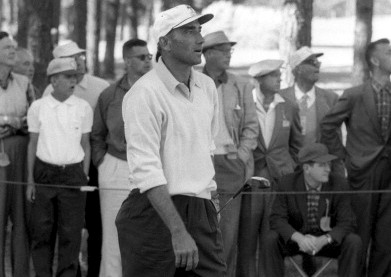 Ed Furgol, 1957 Masters. (Photo by John G. Zimmerman /Sports Illustrated/Getty Images)