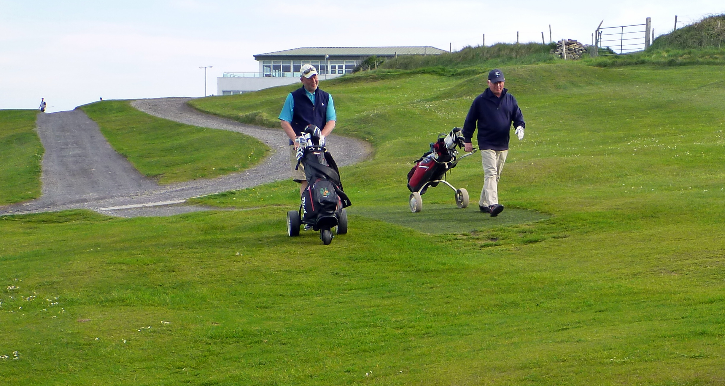 Strandhill Golf Club, 29,730 steps, 15.3 miles.)
